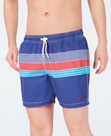 Barbour Men's Rydal Stripe Swim Trunks