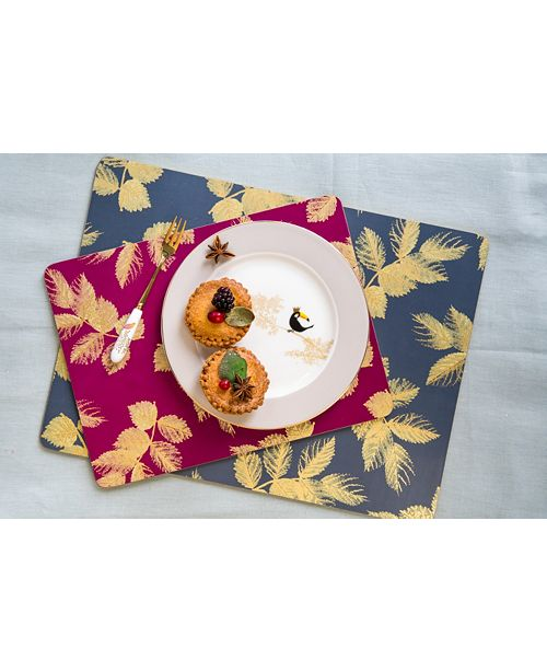 Pimpernel Etched Leaves Collection