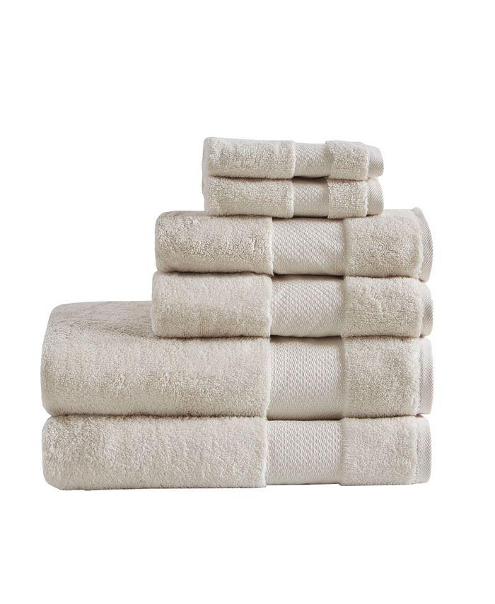 Madison Park - Cotton 6-Pc. Turkish Bath Towel Set