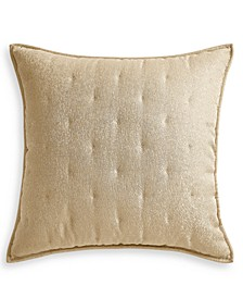 Metallic Stone Quilted European Sham, Created for Macy's
