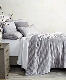 Hotel Collection Autumn Leaf Reversible King Coverlet, Created for Macy's