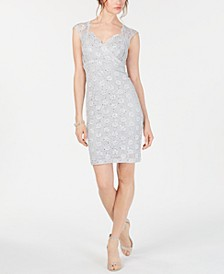 Lace Sweetheart Sheath Dress