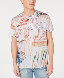 GUESS Men's Summer Nights Graphic T-Shirt