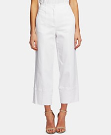 CeCe Front-Seam Ankle Pants