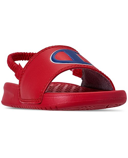 2bab67da4b2c0 Champion Little Boys  Super Slide Sandals from Finish Line   Reviews ...