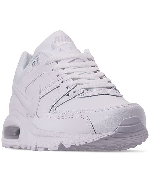 Nike Men's Air Max Command Leather Casual Sneakers from