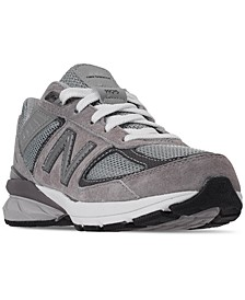 Big Boys' 990 V5 Casual Sneakers from Finish Line