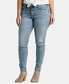 Silver Jeans Co. Trendy Plus Size Avery Curvy-Fit Skinny Jeans