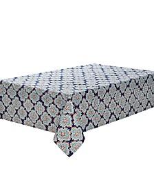 "C. Wonder Artistic Geo Navy 104"" Tablecloth"