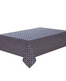 "C. Wonder Octagon Geo Navy 84"" Tablecloth"