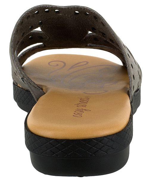ec2141a89e47 Easy Street Vara Jeweled Sandals   Reviews - Ladies Shoes - SLP - Macy s