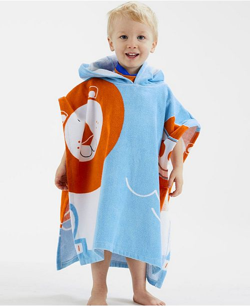 Baby and Toddler Hooded Poncho Towel Noah's Ark