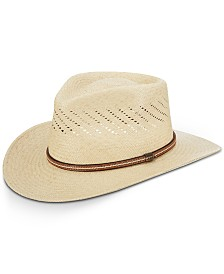 Dorfman Pacific Men's Vented Panama Outback Hat
