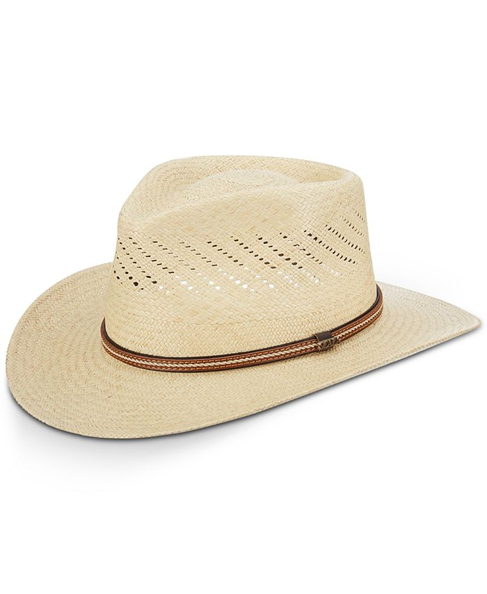 Scala - Men's Vented Panama Outback Hat