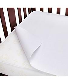 Waterproof Flannel Crib Mattress Protector Pad