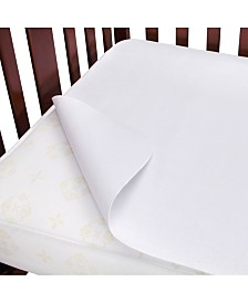 Carter's Waterproof Flannel Crib Mattress Protector Pad