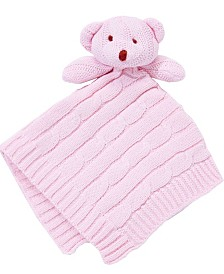 Knit Bear Security Blanket