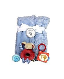 Sleepy Time Baby Boy Gift Set