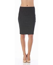 Lamonir Short Pencil Skirt with Elastic Waist