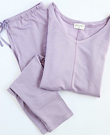 Delilah Short Sleeve Loungewear Set