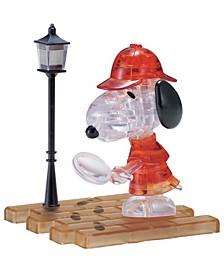 3D Crystal Puzzle-Detective Snoopy - 34 Pcs
