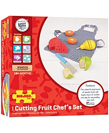 Wooden Cutting Fruit Chef's Set