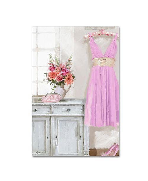 "Trademark Global The Macneil Studio 'Pink Dress' Canvas Art - 32"" x 22"" x 2"""