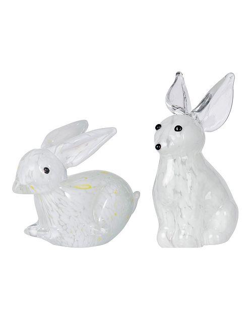 AB Home Hoppity Rabbit Accents, Set of 2