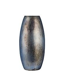 Tall Shiny Metallic Cloud Vase