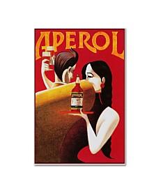 """Vintage Lavoie 'Ads-0068' Canvas Art - 32"""" x 22"""" x 2"""""""