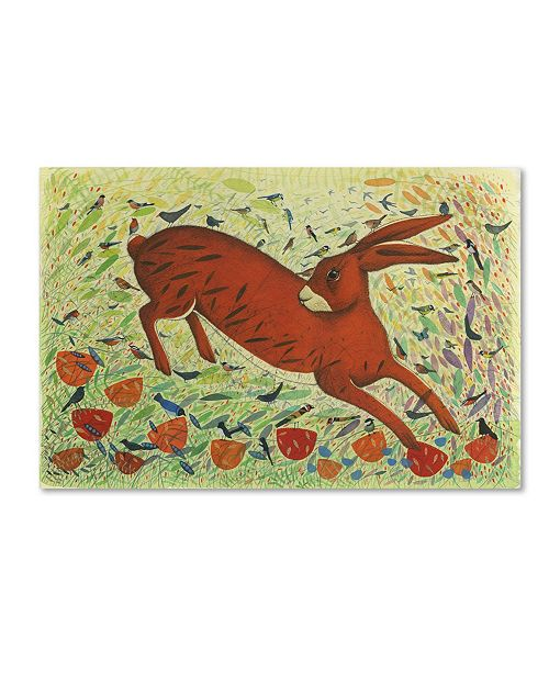 """Trademark Global Michelle Campbell 'The Arrival Of Spring' Canvas Art - 19"""" x 12"""" x 2"""""""