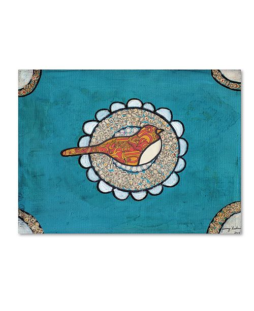 "Trademark Global Tammy Kushnir 'Red Bird' Canvas Art - 24"" x 18"" x 2"""