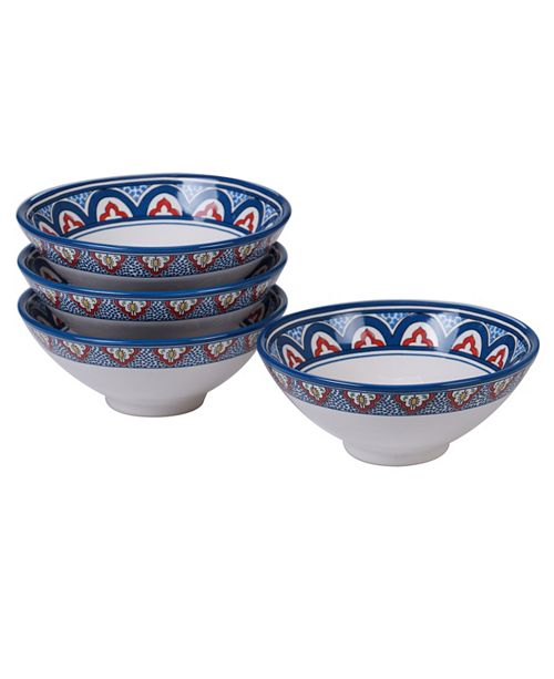 Certified International Tangier 4-Pc. Ice Cream Bowl
