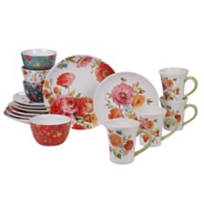 Certified International Country Fresh 16-Pc. Dinnerware Set