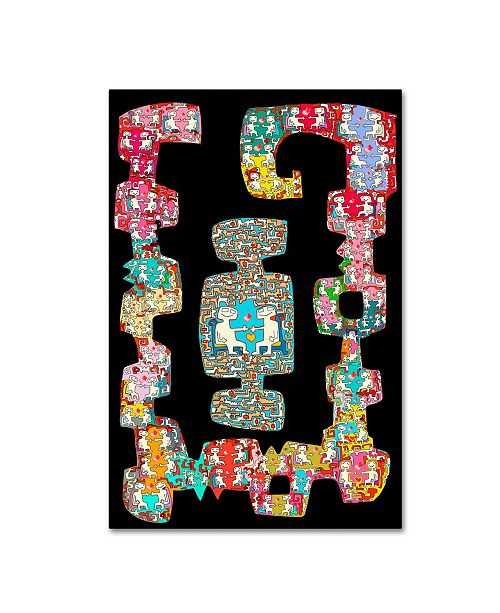 """Trademark Global Miguel Balbas 'Love Of All Sorts' Canvas Art - 47"""" x 30"""" x 2"""""""