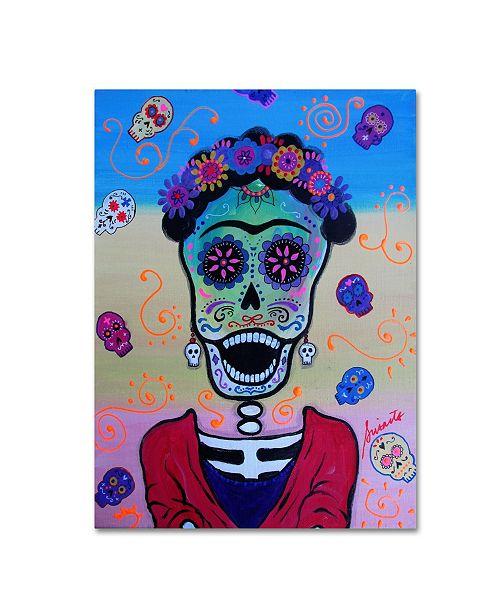 "Trademark Global Prisarts 'Screaming Frida' Canvas Art - 24"" x 18"" x 2"""