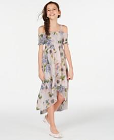 Rare Editions Big Girls Floral Maxi Dress