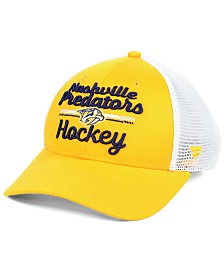 Authentic NHL Headwear Women's Nashville Predators Lockup Trucker Snapback Cap