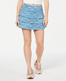 Ideology Coastal Tiered Tennis Skort, Created for Macy's