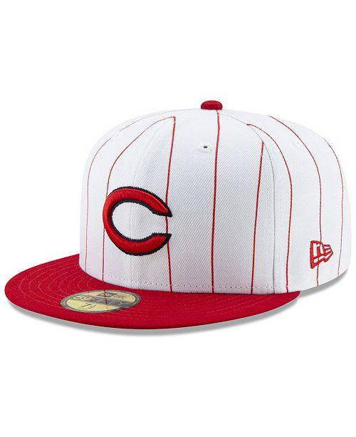 size 40 30c9d ee56b ... New Era Cincinnati Reds TBTC 59FIFTY-FITTED Cap ...