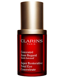 Clarins Super Restorative Total Eye Concentrate, 0.5 oz