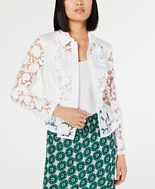 I.N.C. Crochet Lace Jacket, Created for Macy's
