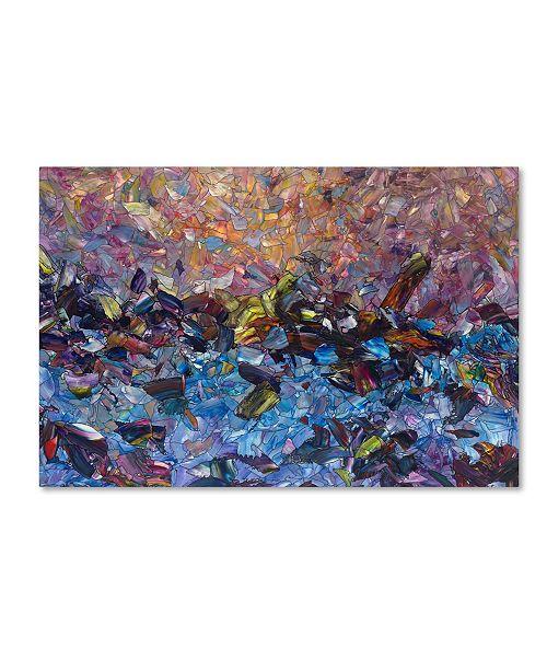 "Trademark Global James W. Johnson 'Shipwreck' Canvas Art - 32"" x 22"" x 2"""