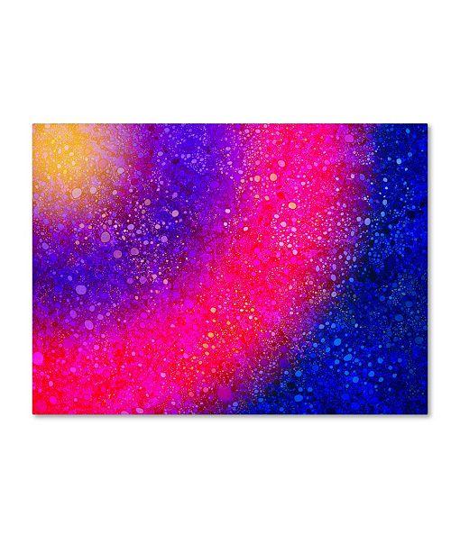 "Trademark Global MusicDreamerArt 'Rainbow On Steroids' Canvas Art - 47"" x 35"" x 2"""