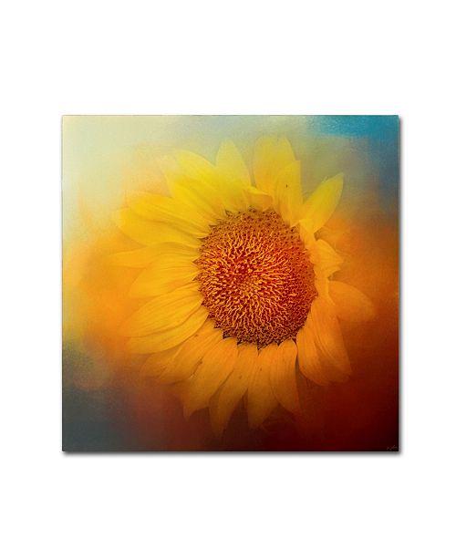 "Trademark Global Jai Johnson 'Sunflower Surprise' Canvas Art - 24"" x 24"" x 2"""
