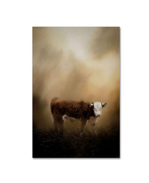 "Trademark Global Jai Johnson 'The Lone Calf' Canvas Art - 47"" x 30"" x 2"""