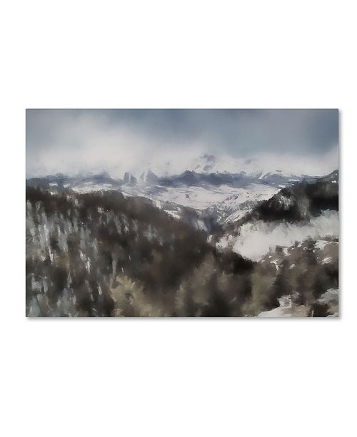 "Trademark Global Jai Johnson 'Winter Impressions In Colorado 7' Canvas Art - 47"" x 30"" x 2"""