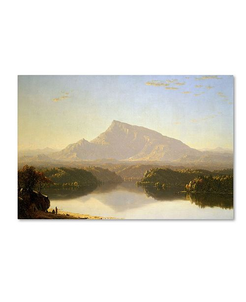 "Trademark Global Sanford Gifford 'Wilderness' Canvas Art - 47"" x 30"" x 2"""