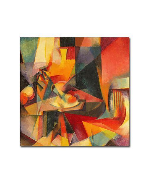 "Trademark Global Stanton Macdonald-Wright 'Synchromy 3' Canvas Art - 35"" x 35"" x 2"""