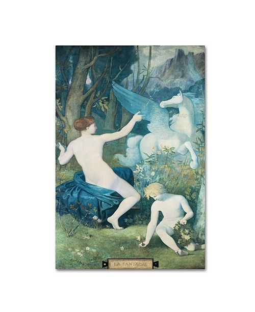 "Trademark Global Pierre Puvis 'Fantasy' Canvas Art - 47"" x 30"" x 2"""